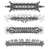 Ornamental Banners Royalty Free Stock Image