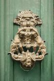 Door handle. An ornamental baroque door handle, Sicily, Italy Stock Photography