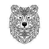 Ornamental Bear Royalty Free Stock Image