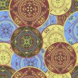 ornamental bezszwowy deseniowy Zdjęcie Royalty Free