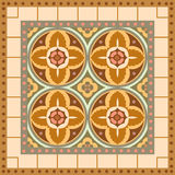 Ornamental blocks Royalty Free Stock Images