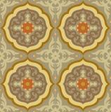 Ornamental blocks - tiled background Stock Photos