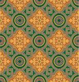 Ornamental blocks - tiled background Royalty Free Stock Images