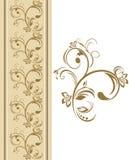 Ornamental border Stock Images