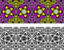 Ornamental border Stock Photos