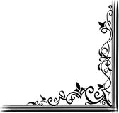 Ornamental border. Lots of room for adding your text Royalty Free Stock Photography