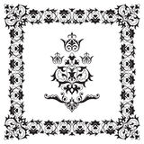 Ornamental border frame design element Stock Photo