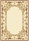 Ornamental border frame vintage Royalty Free Stock Images