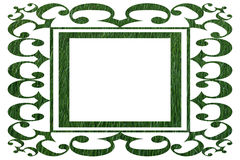 Ornamental Border in Grass Pattern Royalty Free Stock Photography