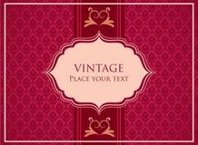 Ornamental card Stock Photo