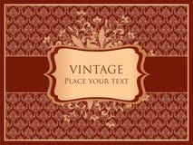 Ornamental card Royalty Free Stock Image