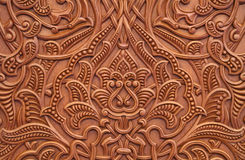 Ornamental carvings Stock Photo