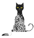 Ornamental cat Royalty Free Stock Image