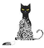 Ornamental cat Royalty Free Stock Image