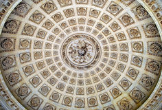 Ornamental ceiling rosettes Royalty Free Stock Photography