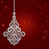 Ornamental Christmas Background Royalty Free Stock Images