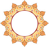 Ornamental circle pattern Stock Photos