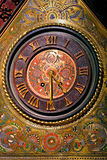 Ornamental clock Royalty Free Stock Images