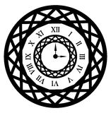 Ornamental clock Royalty Free Stock Photography
