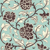 Ornamental colored antique floral pattern. Stock Photography