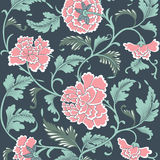 Ornamental colored antique floral pattern. Stock Images