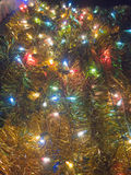 Ornamental colorful electric light Royalty Free Stock Images