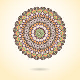 Ornamental colorful mandala. Stylish geometric pattern in orient Royalty Free Stock Photo