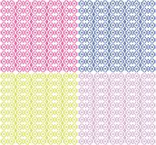 Ornamental Colorful Seamless Pattern Stock Photo