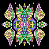 Ornamental Colorfull Abstract Vector. Stock Photography