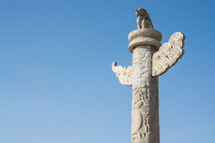 Ornamental column Stock Photography