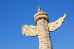 Ornamental columns Royalty Free Stock Photos