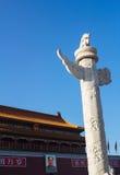 Ornamental columns Stock Photos
