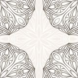 Ornamental corner lace frame. Abstract card Royalty Free Stock Image