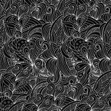 Ornamental décoratif de nature de vecteur abstrait Photo libre de droits