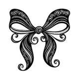 Ornamental Decorative Bow Royalty Free Stock Photography
