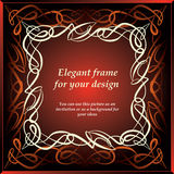 Ornamental decorative frame Stock Photography