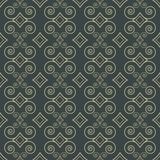 Ornamental decorative pattern Royalty Free Stock Images