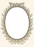 Ornamental del marco de la foto de la vendimia   Fotos de archivo libres de regalías