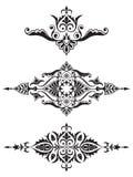 Ornamental design element collection royalty free illustration