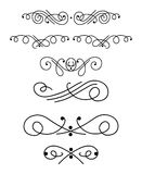 Ornamental design elements 1 Stock Photo