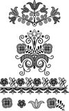 Ornamental design elements Royalty Free Stock Photos