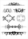 Ornamental design elements Stock Photography