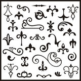 Ornamental design elements Royalty Free Stock Photography