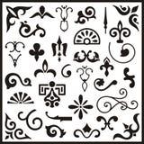 Ornamental design elements Royalty Free Stock Photos