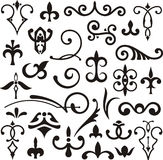 Ornamental design elements Royalty Free Stock Image