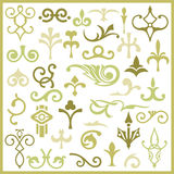 Ornamental design elements. Series Royalty Free Stock Photos