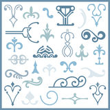 Ornamental design elements. Series Stock Photography