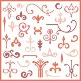 Ornamental design elements Stock Photos