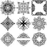 Ornamental Design Elements royalty free illustration