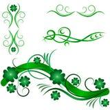 Ornamental design elements Royalty Free Stock Photo